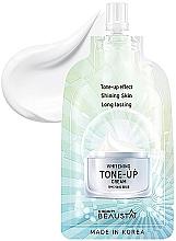 Düfte, Parfümerie und Kosmetik Erfrischende Gesichtscreme - Beausta Whitening Tone-Up Cream