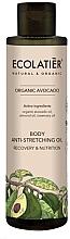 Düfte, Parfümerie und Kosmetik Pflegendes und regenerierendes Körperöl gegen Dehnungsstreifen - Ecolatier Organic Avocado Body Anti-Stretching Oil