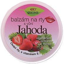 Düfte, Parfümerie und Kosmetik Lippenbalsam mit Erdbeergeschmack - Bione Cosmetics Lip Balm Strawberry