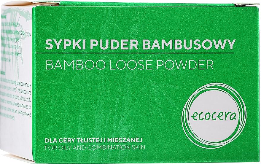Bambuspulver für fettige und Mischhaut - Ecocera Bamboo Face Powder