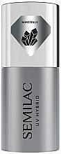 Düfte, Parfümerie und Kosmetik UV Hybrid-Nagelunterlack - Semilac UV Hybrid Mineral Strong Base