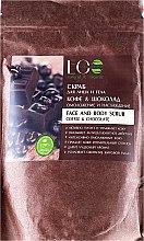 """Düfte, Parfümerie und Kosmetik Körper- und Gesichtspeeling """"Kaffee und Schokolade"""" - ECO Laboratorie Face And Body Scrub Coffee & Chocolate"""