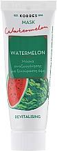 Düfte, Parfümerie und Kosmetik Revitalisierende Gesichtsmaske mit Wassermelonenextrakt - Korres Watermelon Revitalising Mask