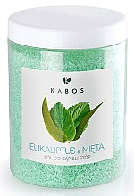 Düfte, Parfümerie und Kosmetik Fußbad Eukalyptus und Minze - Kabos Eucalyptus & Mint Foot Bath Salt