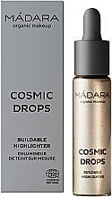 Düfte, Parfümerie und Kosmetik Flüssiger Highlighter - Madara Cosmetics Cosmic Drops Buildable Highlighter
