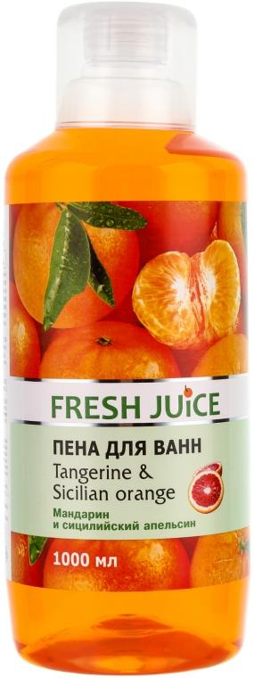Schaumbad mit Mandarine und sizilianischer Orange - Fresh Juice Tangerine and Sicilian