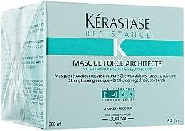 Düfte, Parfümerie und Kosmetik Rekonstruierende Maske für sehr strapaziertes Haar - Kerastase Masque Force Architecture