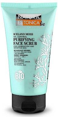 Gesichtspeeling mit Bio Bambus-Extrakt und Islandmoos - Natura Estonica Iceland Moss Face Scrub