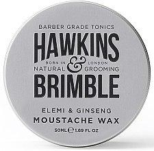 Düfte, Parfümerie und Kosmetik Schnurrbartwachs - Hawkins & Brimble Elemi & Ginseng Moustache Wax