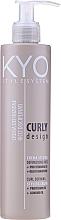 Düfte, Parfümerie und Kosmetik Creme für lockiges Haar mit Mandelöl - Kyo Style System Curly Design