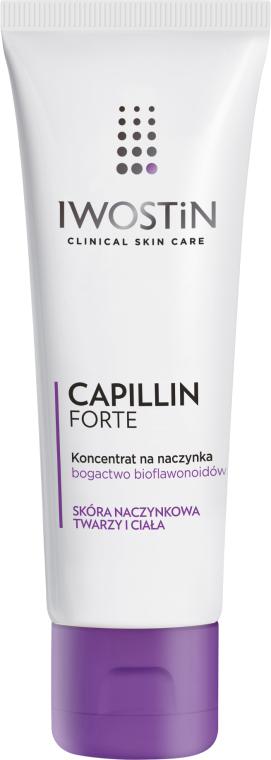 Pflegendes Gesichtskonzentrat mit Capillin - Iwostin Capillin Forte Concentrate