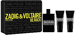 Düfte, Parfümerie und Kosmetik Zadig & Voltaire This is Him - Duftset (Eau de Toilette 100ml + Duschgel 75ml + Duschgel 75ml)