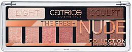 Düfte, Parfümerie und Kosmetik Lidschattenpalette - Catrice The Fresh Nude Collection Eyeshadow Palette
