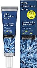 Düfte, Parfümerie und Kosmetik Nachtgesichtsmaske mit Honig - Tolpa Dermo Face Sebio Night Blocker Sebum Mask