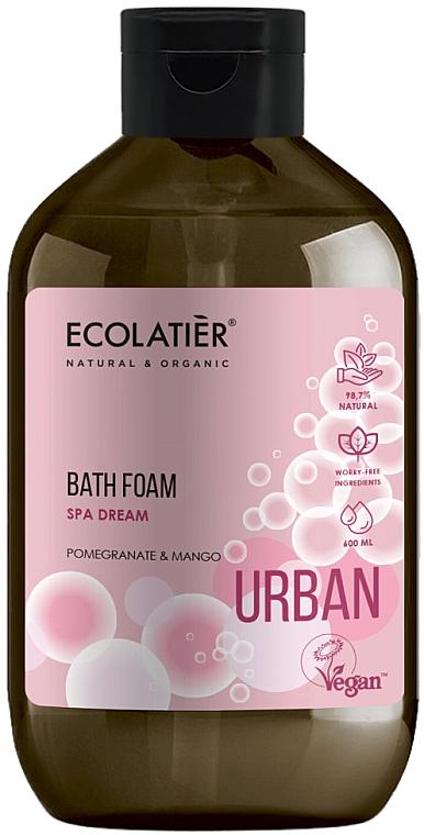 Schaumbad mit Granatapfel und Mango - Ecolatier Urban Bath Foam