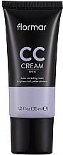 Düfte, Parfümerie und Kosmetik CC Gesichtscreme gegen müde Haut - Flormar Cc Cream Anti-Dullness