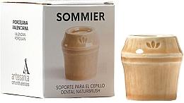Düfte, Parfümerie und Kosmetik Zahnbürstenhalter aus Porzellan beige - NaturBrush Sommier Toothbrush Holder