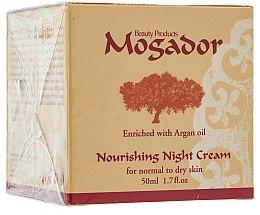 Nährende Gesichtscreme für normale und trockene Haut mit Arganöl - Mogador Nourishing Night Cream — Bild N1