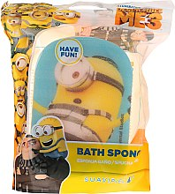 Düfte, Parfümerie und Kosmetik Kinder-Badeschwamm blau Gefangener Carl - Suavipiel Minnioins Bath Sponge