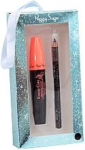 Düfte, Parfümerie und Kosmetik Make-up Set (Wimperntusche 11ml + Eyeliner 1,14g) - Peggy Sage Black Eyes Box