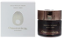 Düfte, Parfümerie und Kosmetik Luxusvolle goldinfusierte Barriercreme für trockene und empfindliche Haut - Omorovicza Gold Rescue Cream