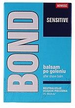 Düfte, Parfümerie und Kosmetik Beruhigender After Shave Balsam - Bond Sensitive After Shave Balm