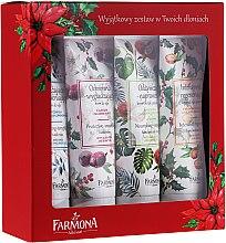 Düfte, Parfümerie und Kosmetik Handpflegeset - Farmona In Your Hands (Handcreme 4x50ml)