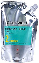 Düfte, Parfümerie und Kosmetik Erweichende Creme für gefärbtes und poröses Haar - Goldwell Structure + Shine Soft Cream Medium 2 Straightening Cream