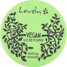 Düfte, Parfümerie und Kosmetik Veganer loser Gesichtspuder transparent - Lovely Vegan Loose Powder Setting Powder