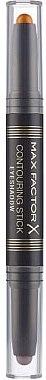 2in1 Konturen- und Lidschattenstift - Max Factor Contouring Stick Eyeshadow