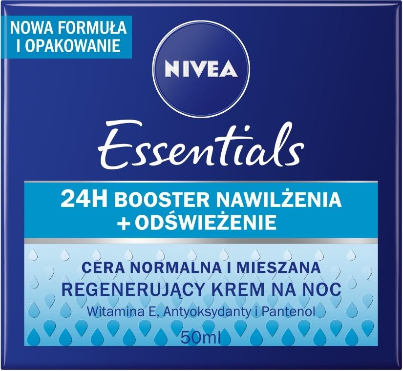 Regenerierende Nachtcreme - Nivea Aqua Effect — Bild N2
