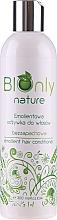 Düfte, Parfümerie und Kosmetik Aufweichender unparfümierter Conditioner für hochporöses, trockenes und stapaziertes Haar - BIOnly Nature Emollient Hair Conditioner