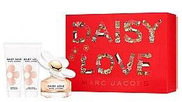 Düfte, Parfümerie und Kosmetik Marc Jacobs Daisy Love - Duftset (Eau de Toilette 50ml + Duschgel 75ml + Körperlotion 75ml)