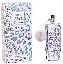 Düfte, Parfümerie und Kosmetik Naomi Campbell Cat Deluxe Silver - Eau de Toilette