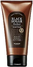 Düfte, Parfümerie und Kosmetik Peelingschaum mit schwarzem Zucker und Multi-Fruchtkomplex - SkinFood Black Sugar Perfect Scrub Foam