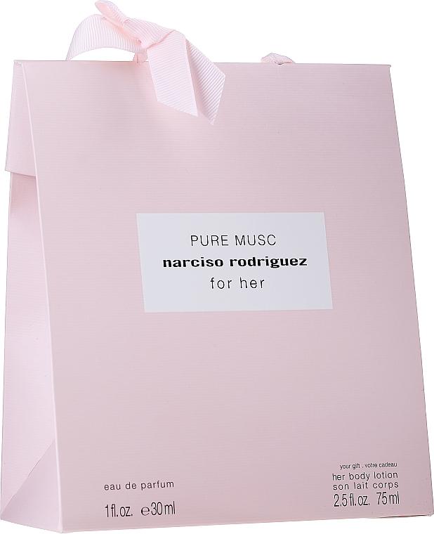 Duftset - Narciso Rodriguez For Her Pure Musc (Eau de Parfum 30ml + Körperlotion 75ml)