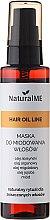 Düfte, Parfümerie und Kosmetik Haarmaske mit Honig in Sprayform - NaturalME Hair Oil Line