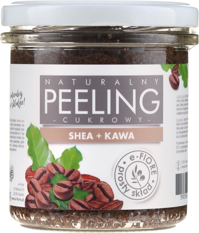Natürliches Körperpeeling mit Sheabutter und Kaffee - E-Fiore Coffee Body Peeling