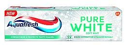 Düfte, Parfümerie und Kosmetik Aufhellende Zahnpasta Pure White Soft Mint - Aquafresh Pure White Soft Mint