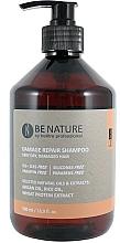 Düfte, Parfümerie und Kosmetik Shampoo für trockenes und strapaziertes Haar - Beetre BeNature Damage Repair Shampoo