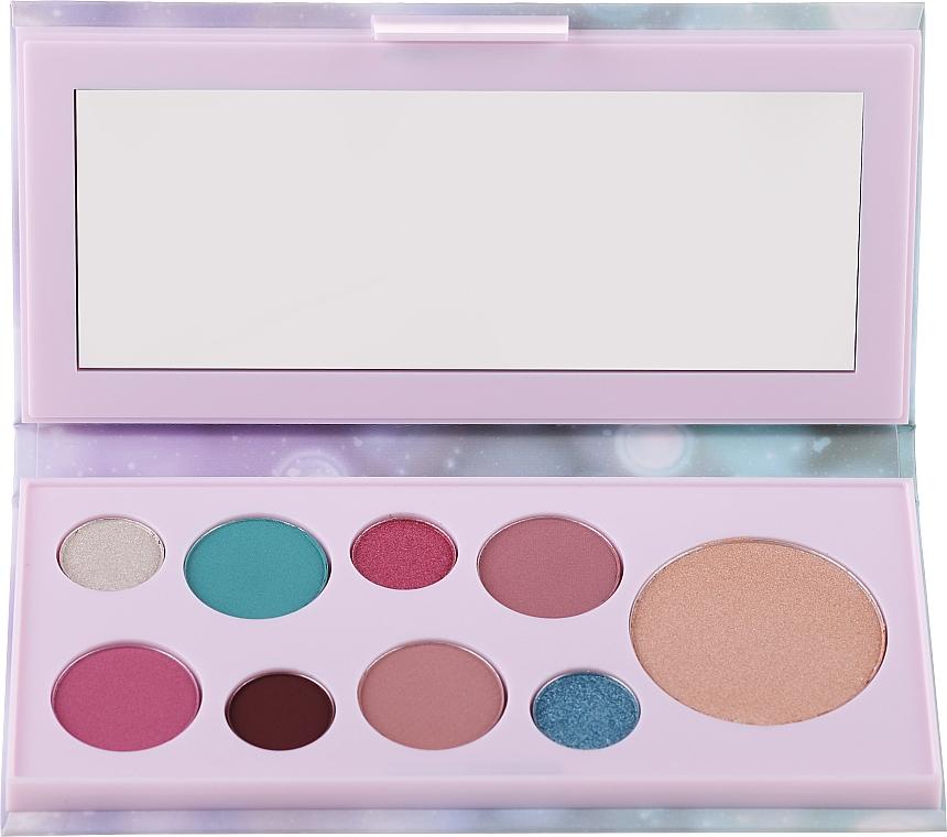 Lidschatten- und Make-up-Palette - Avon Mark Pearlesque Treasure Palette For Eyes & Face