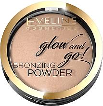 Düfte, Parfümerie und Kosmetik Bronzing-Puder - Eveline Cosmetics Glow & Go Bronzing Powder