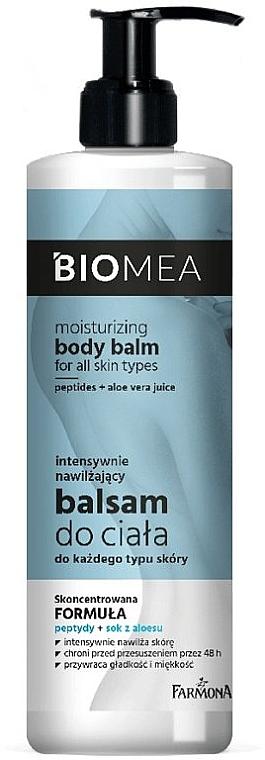 Intensiv feuchtigkeitsspendende Körperlotion für alle Hauttypen - Farmona Biomea Moisturizing Body Balm