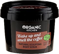 Düfte, Parfümerie und Kosmetik Körperpeeling mit Kakaobutter und natürlicher Kaffee Extrakt gegen Cellulite - Organic Shop Organic Kitchen Body Scrub