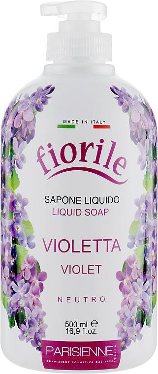 Flüssigseife Veilchen - Parisienne Italia Fiorile Violet Liquid Soap