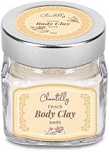 Düfte, Parfümerie und Kosmetik Französischer weißer Ton für Körper - Chantilly Body Clay White
