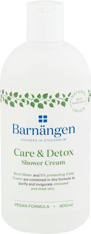 Pflegendes und entgiftendes Duschgel für gestresste und müde Haut - Barnangen Care & Detox Shower Cream