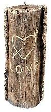 Düfte, Parfümerie und Kosmetik Duftkerze 8,5x21,5 cm Brauner Baumstumpf - Artman Stump Valentin
