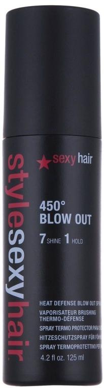 Hitzeschutsspray Mittlerer Halt - SexyHair StyleSexyHair 450 Blow Out Heat Defense Spray — Bild N1