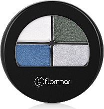 Lidschatten - Flormar Compact Quartet Eye Shadow — Bild N2